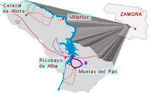 mapa ruta castro y ermita san esteban zamora