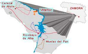 mapa ruta la barca de villaflor zamora