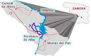 mapa ruta los perones zamora