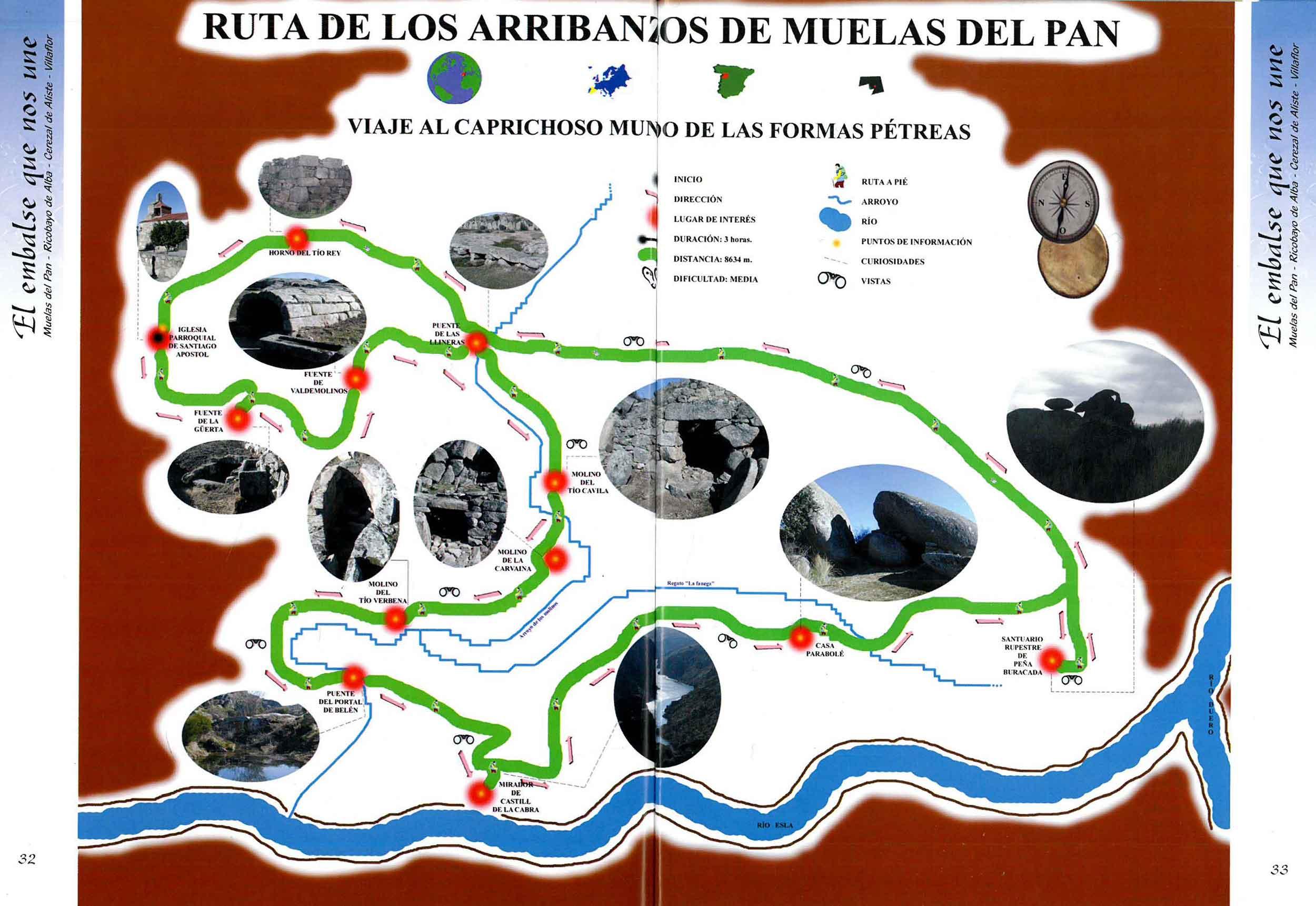 plano ruta los arribanzos